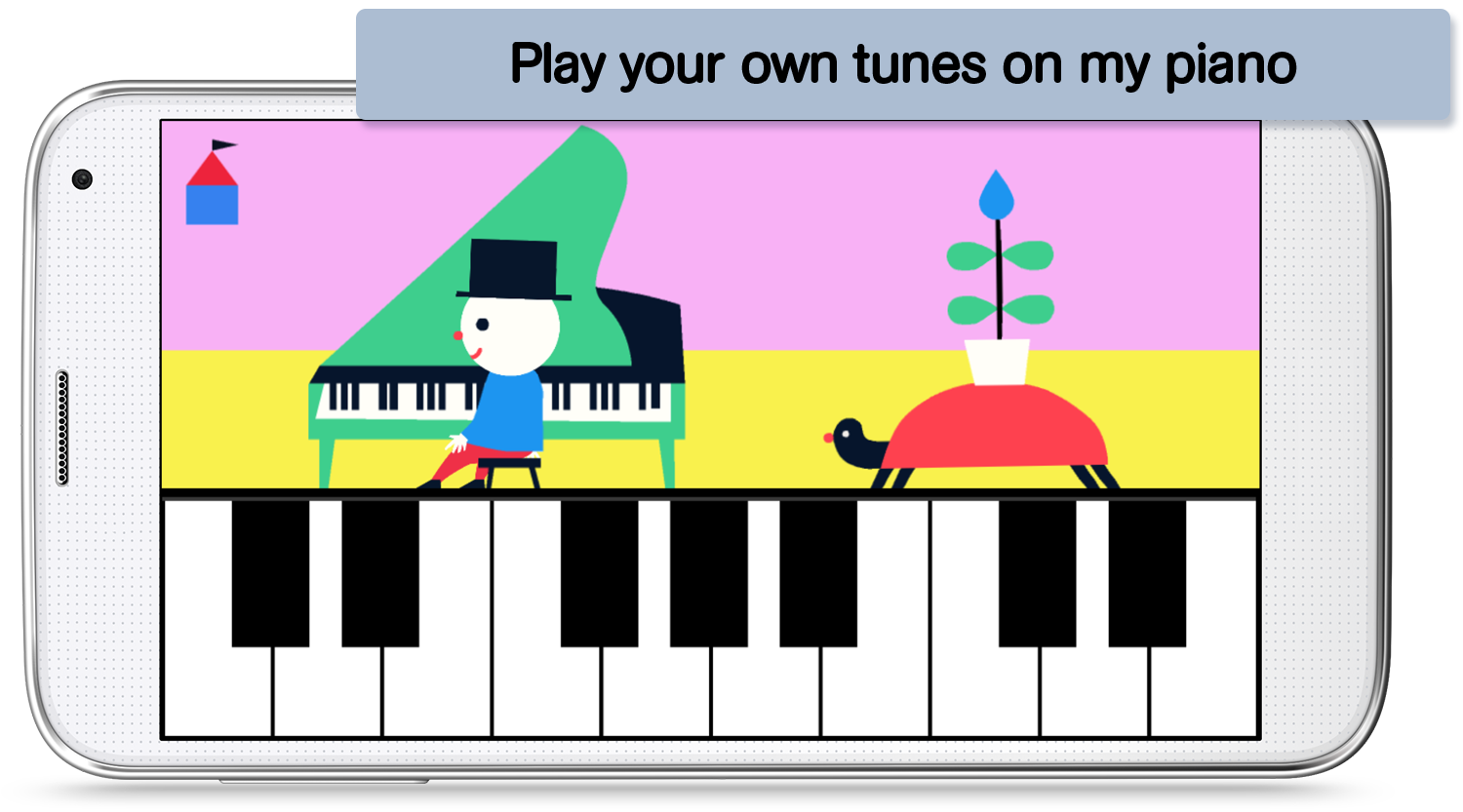 Discover Music - app for kids