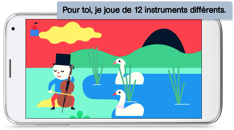 App pour enfants – Découvre la musique