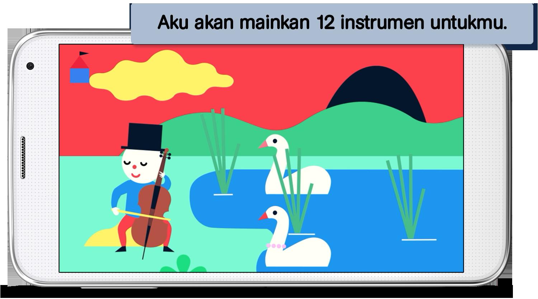 Temukan Musik - aplikasi untuk anak dan keluarga