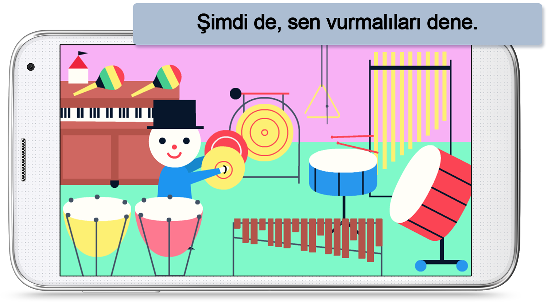 Müziği keşfet – Çocuklar için app